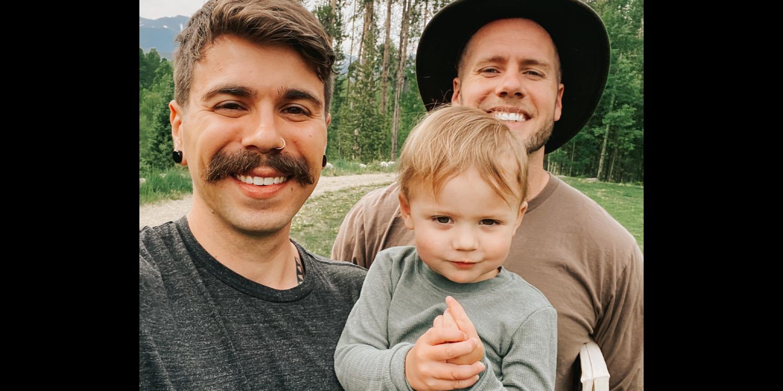 The Durt Family Elliot, Matthew and Uma in the woods