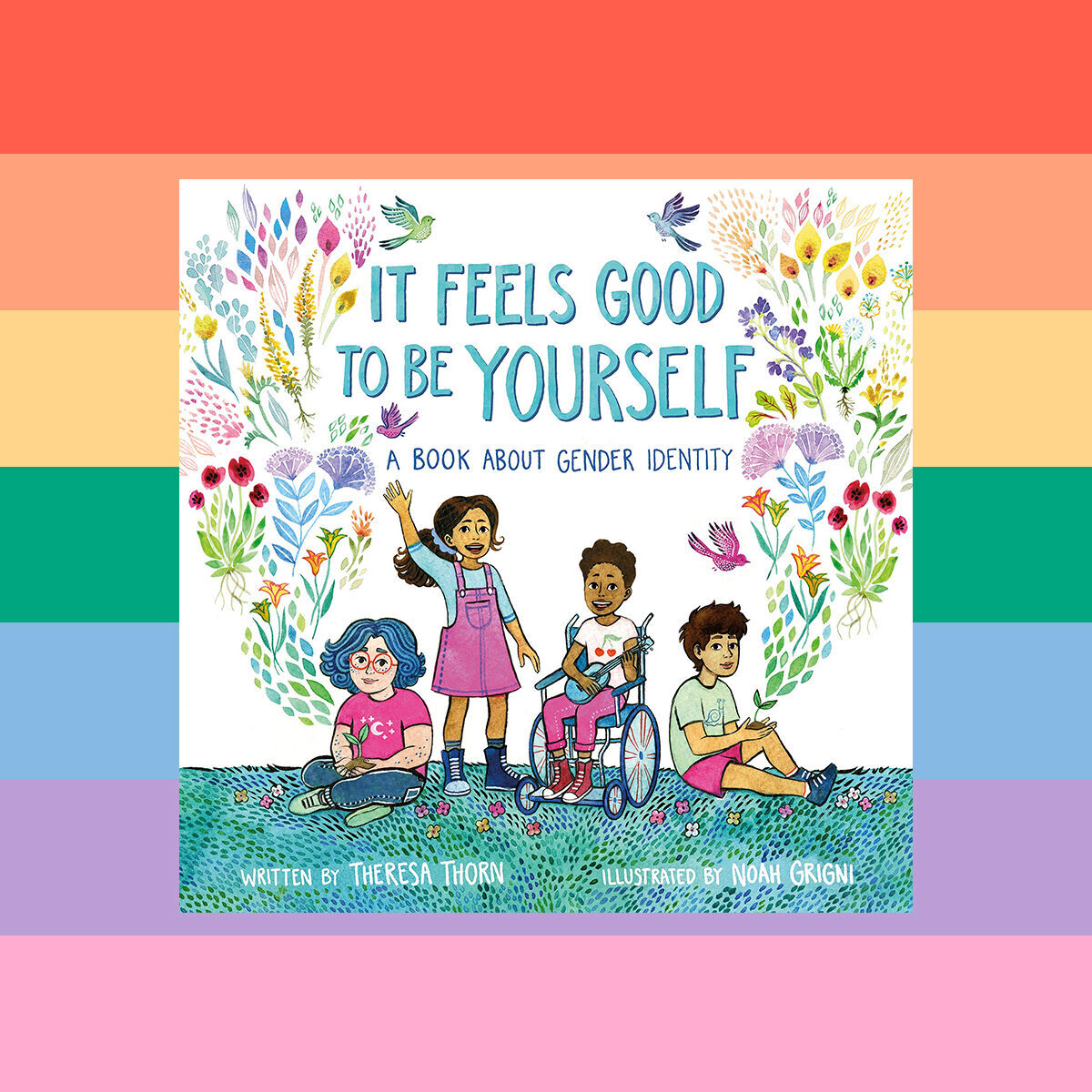 Cover of children's book It Feels Good to be Yourself