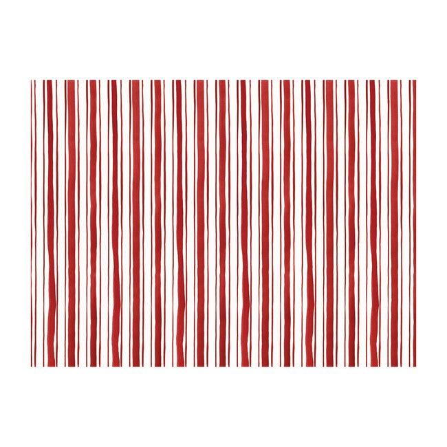 Scarlet Stripe Wallpaper