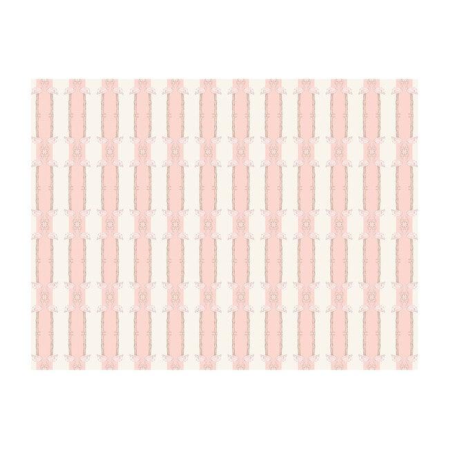 Flamingos On the Line Wallpaper