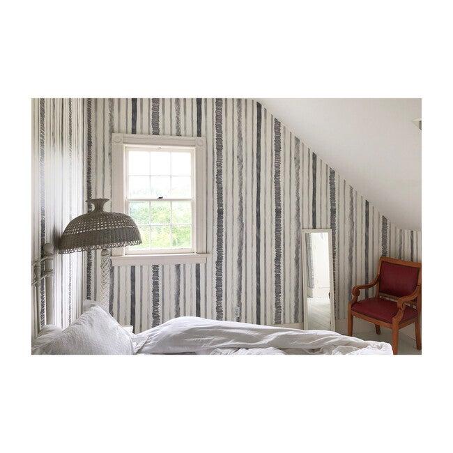 Pencil Stripe Wallpaper