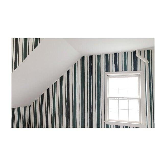 Forest Stripe Wallpaper