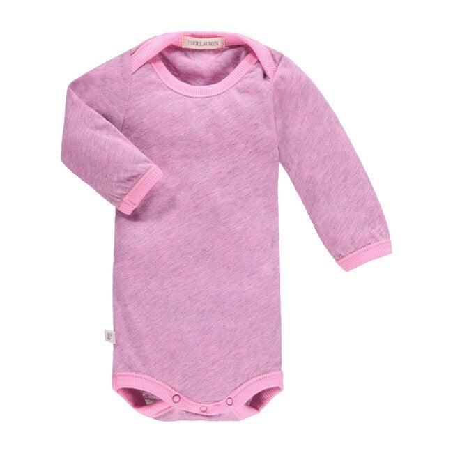 Heathered Bodysuit, Hotel Pink