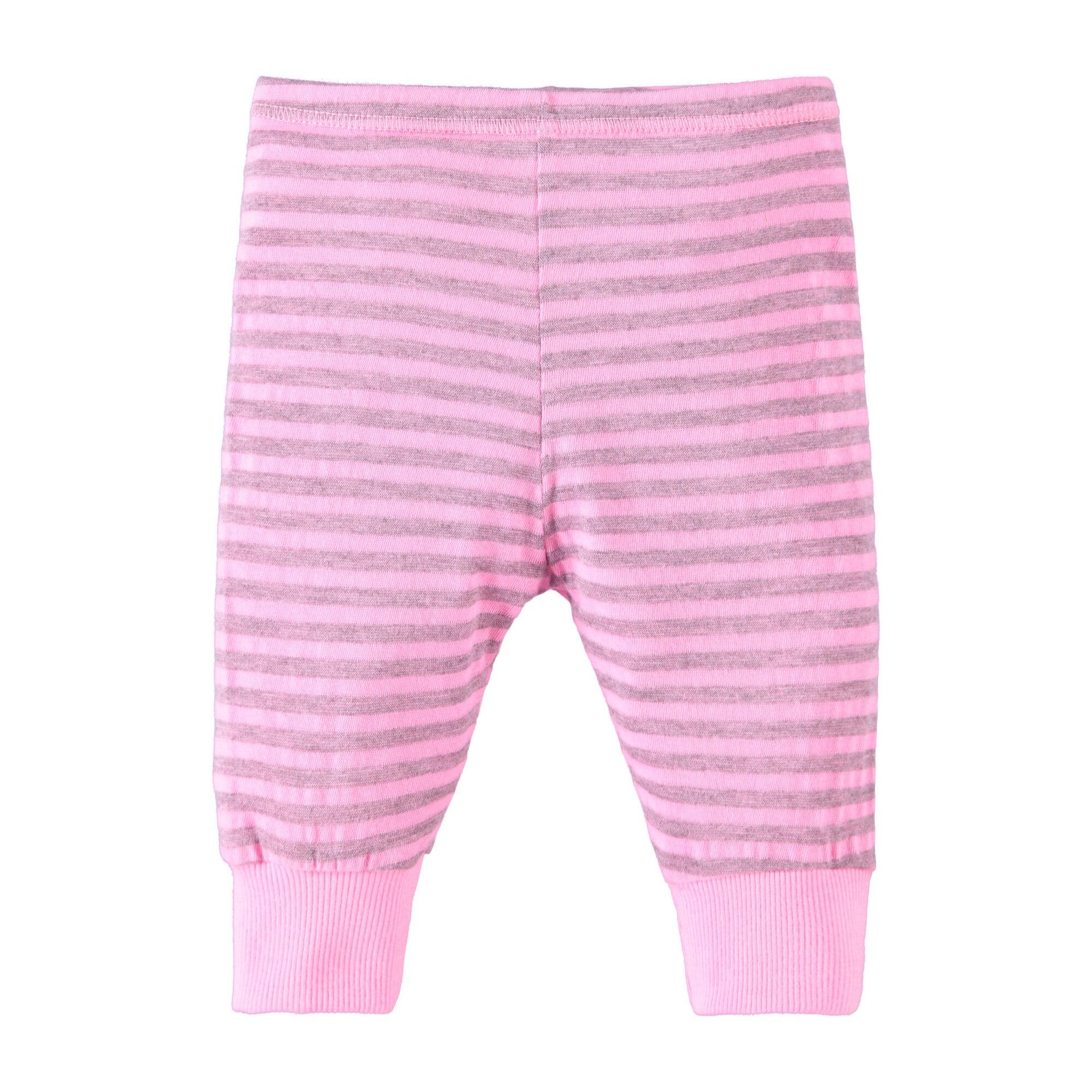 Heathered Stripe Legging, Hotel Pink
