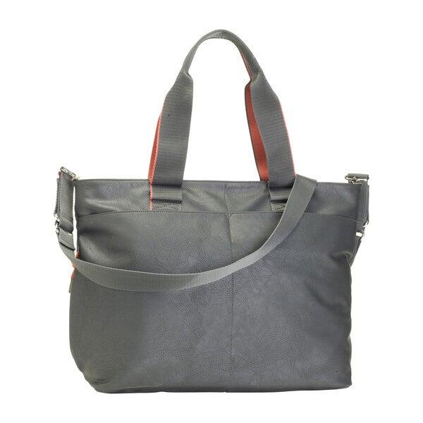 Eden Diaper Bag, Grey