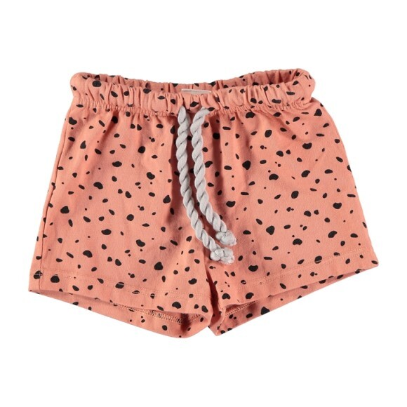 La Valetta Swim Shorts, Coral Flecks