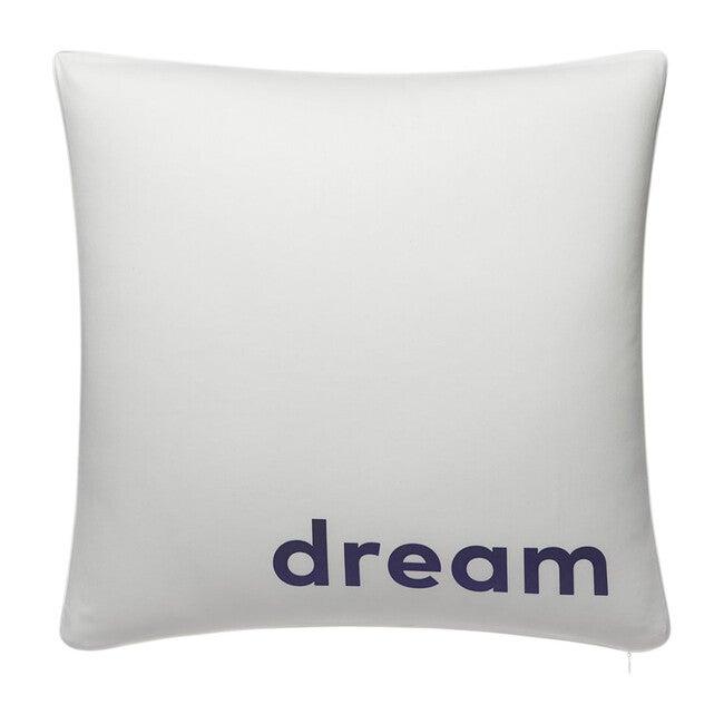 Jr. Decorative Pillow, Classic Navy Pin Dot