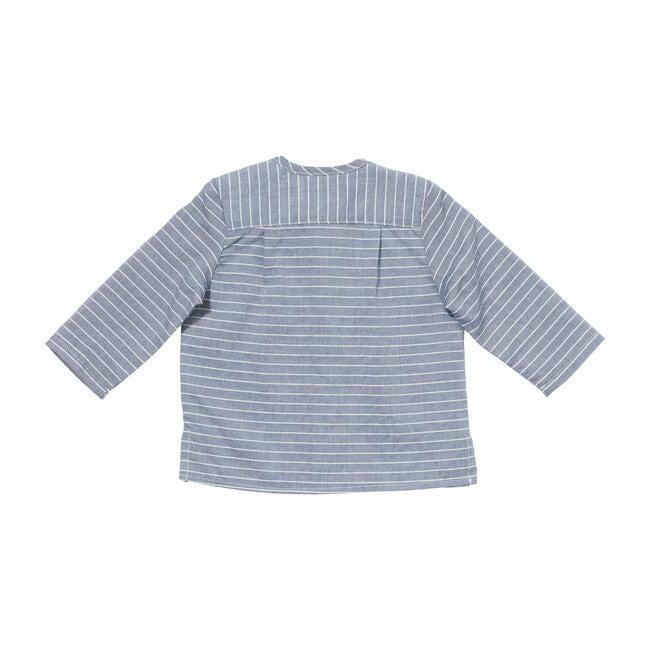 Quinn Shirt, Chambray Stripe