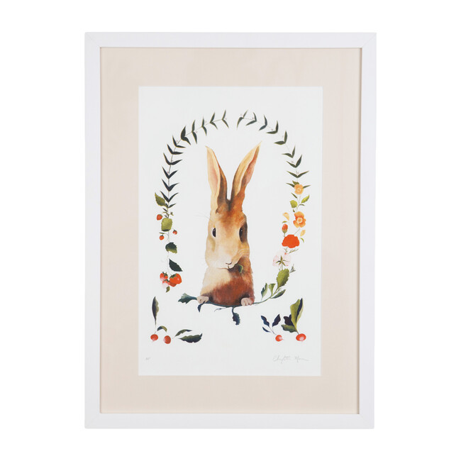 Audrey the Bunny Framed Print, Limited Edition