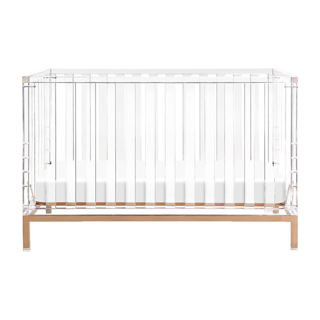 Luma Crib, Rose Gold