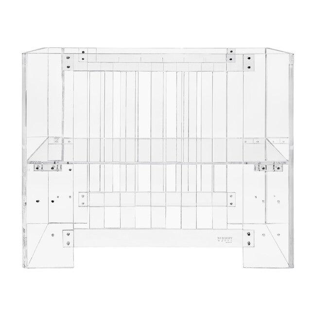 Vetro Mini Crib, Acrylic - Cribs - 0
