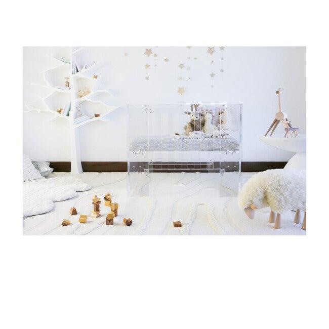 Vetro Mini Crib, Acrylic