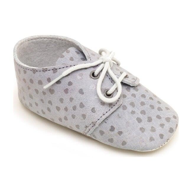 Lou Shoe, Grey Silver Hearts