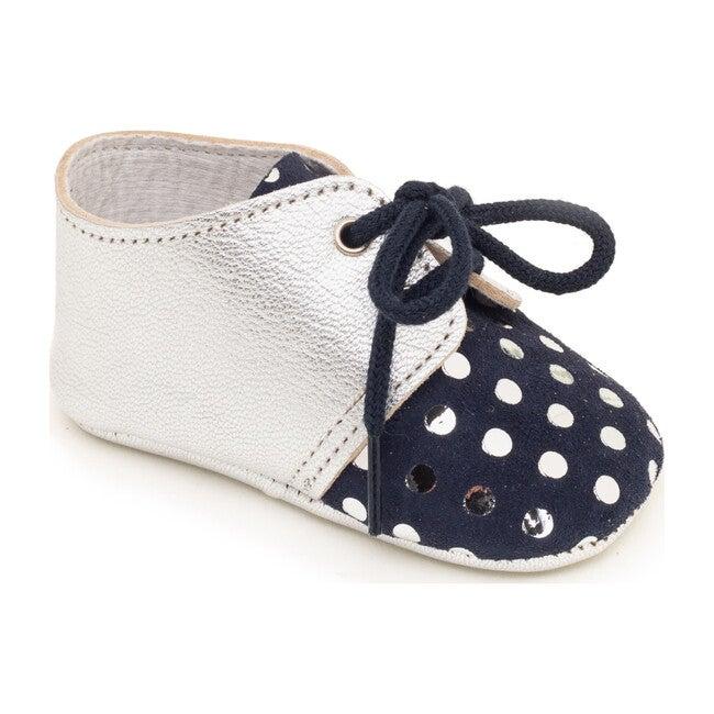 Lou Marine Shoe, Silver Dots
