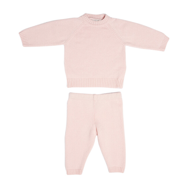 The Neel Travel Set in Cashmere, Evening Pink