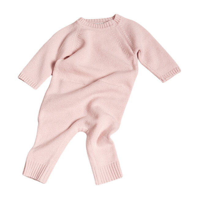 The Neel Travel Pyjama in Cashmere, Evening Pink