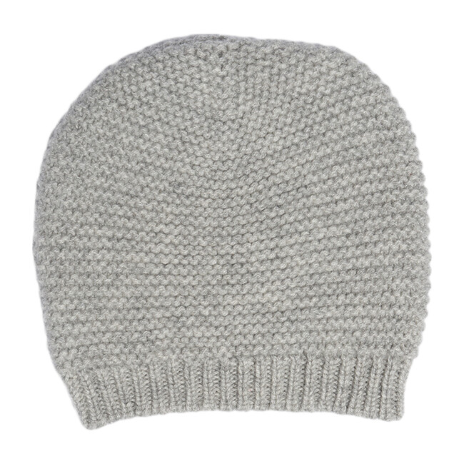 The Maeve Hat in Cashmere, Morning Grey