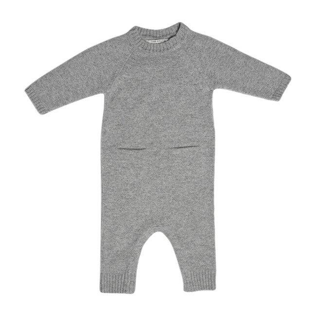 The Neel Travel Pyjama in Cashmere, Morning Grey