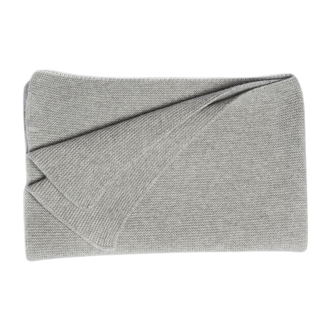 The Maeve Blanket in Cashmere, Morning Grey