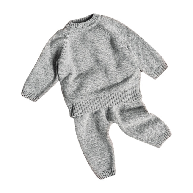 The Neel Travel Set in Cashmere, Morning Grey