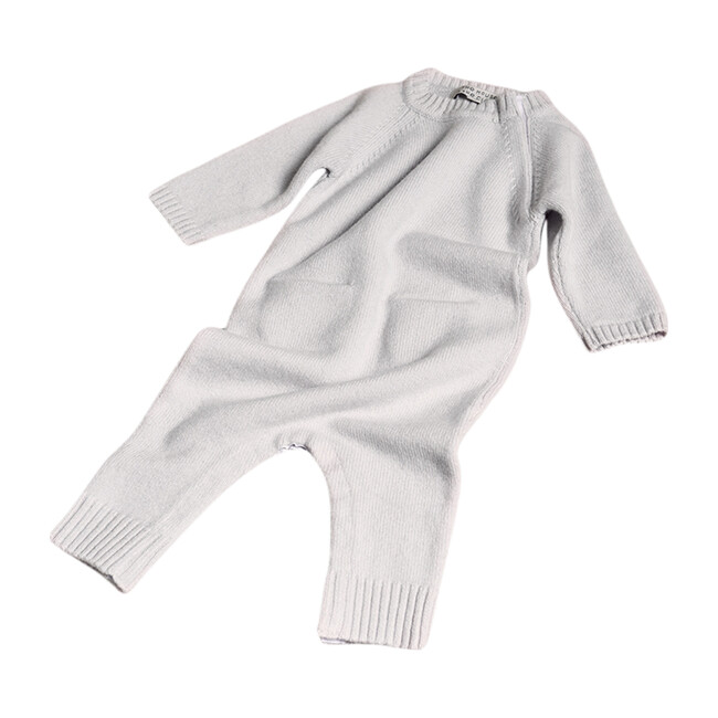 The Neel Travel Pyjama in Cashmere, Cloudy Blue