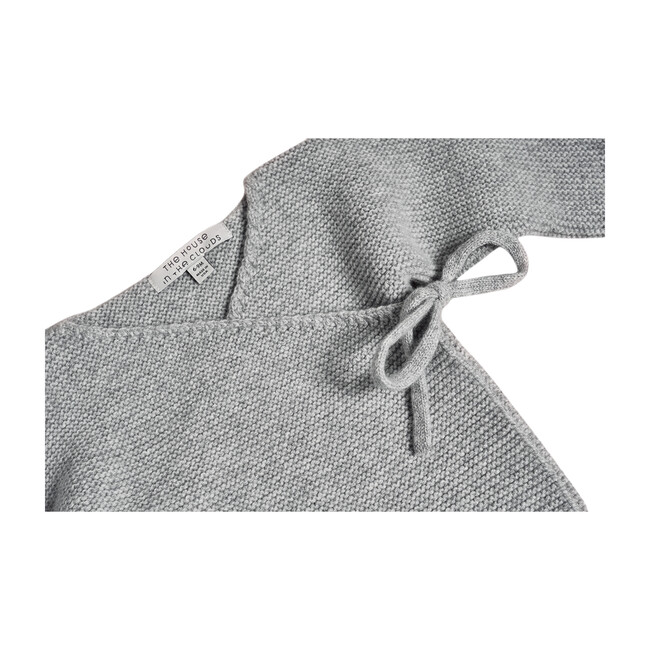 The Maeve Cardigan in Cashmere, Morning Grey