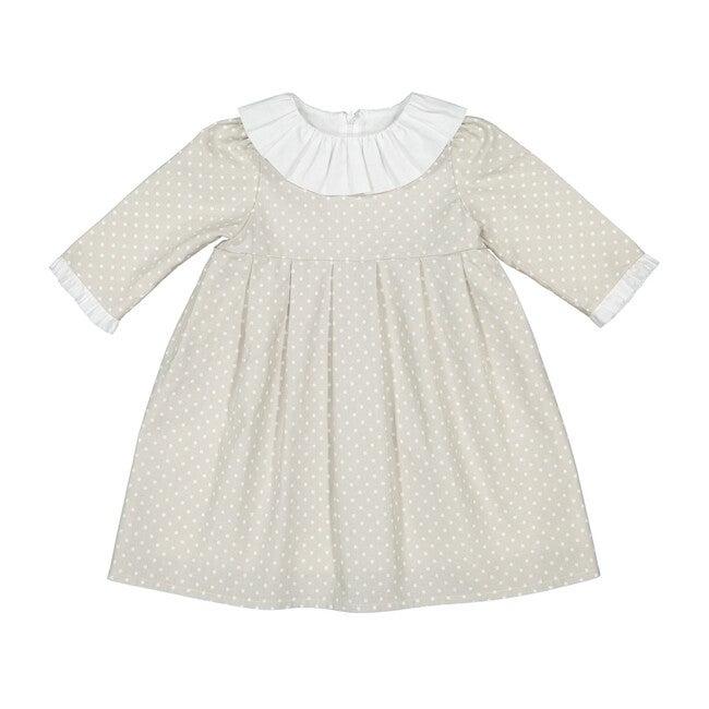 Manon Dress, Grey - Ceremonial Dresses - 1