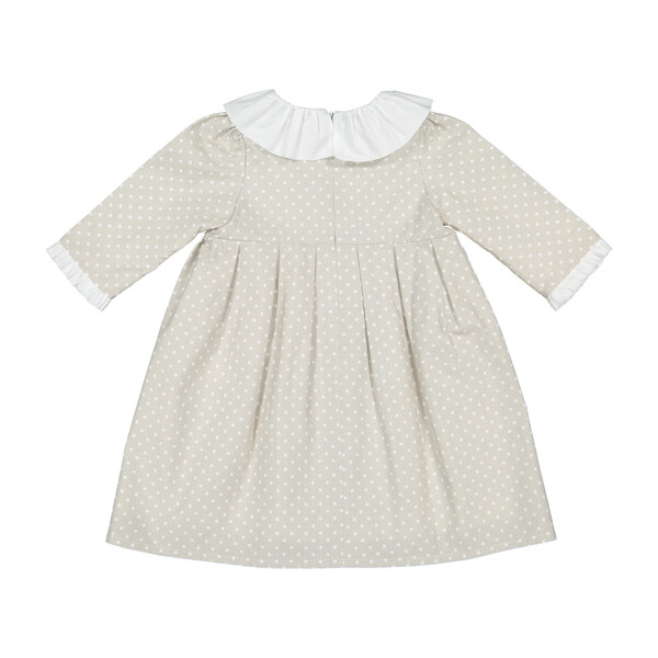 Manon Dress, Grey