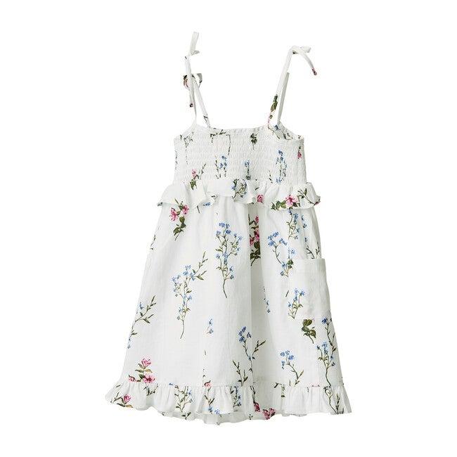 Flower Patch Tank Dress, Ivory