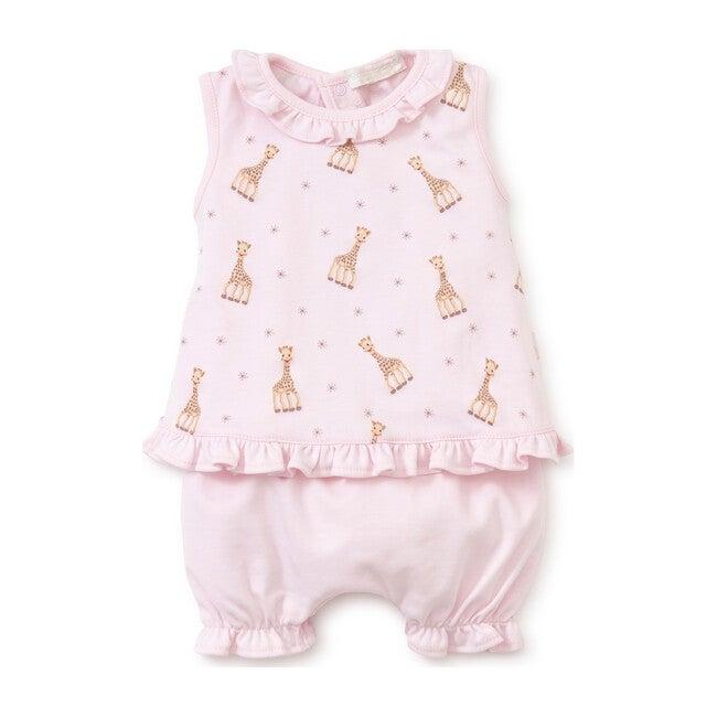 Sophie La Girafe Sunsuit, Pink