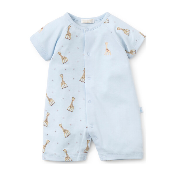 Sophie La Girafe Short Playsuit, Blue