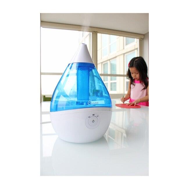 Droplet Ultrasonic Cool Mist Humidifier, Blue