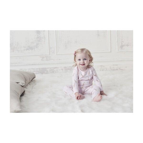 Sophie La Girafe Pajamas, Pink