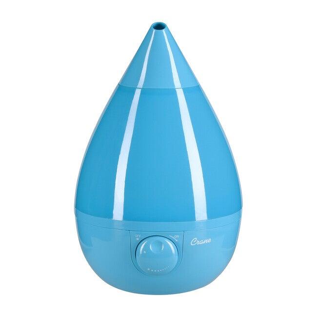 Ultrasonic Cool Mist Drop Shape Humidifier, Blue