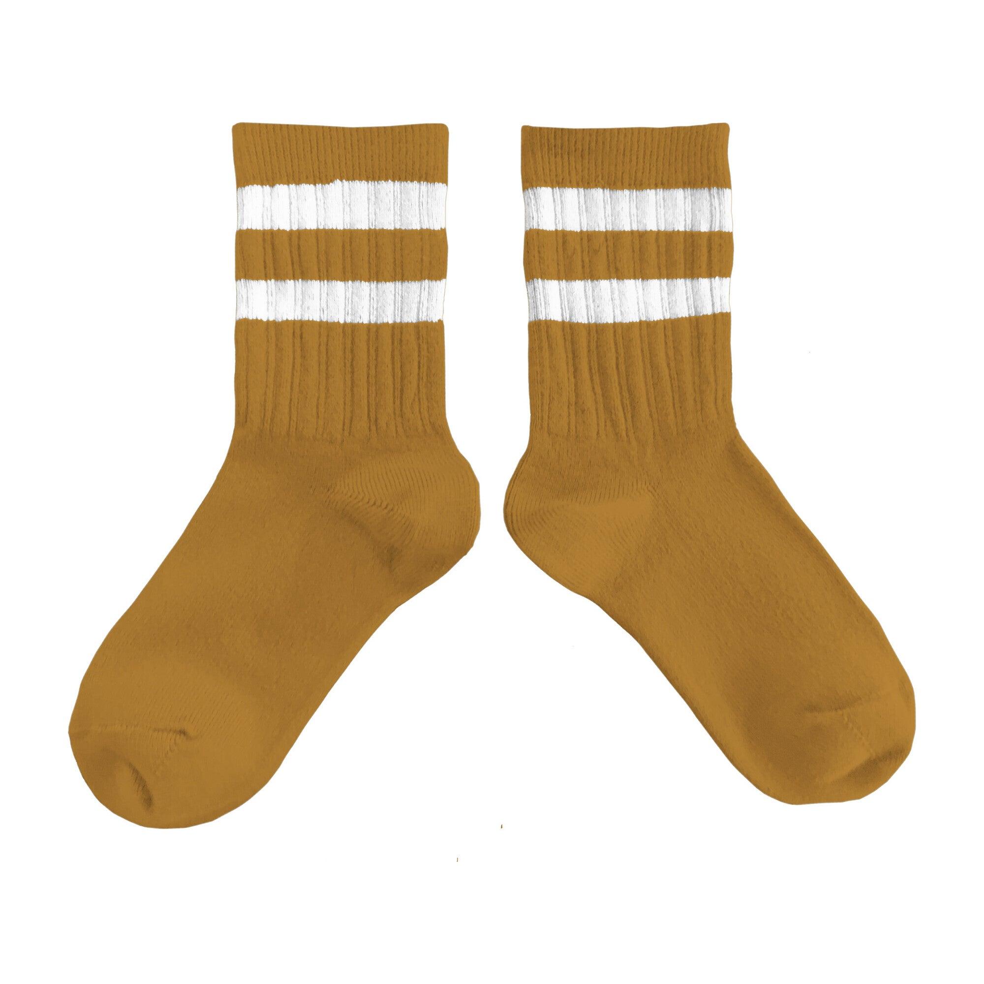 Collégien Varsity Socks, Ochre