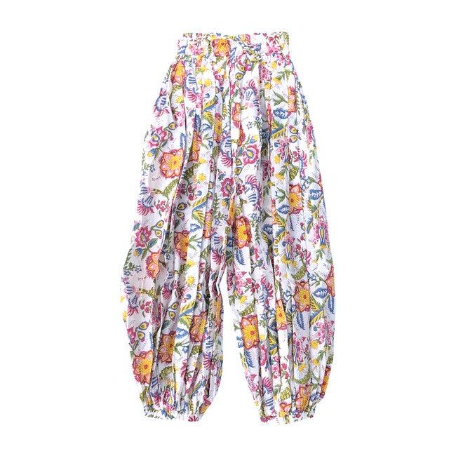 Balloon Pant, Rainbow Floral