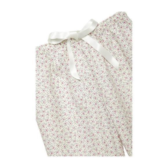 Agatha Pajamas, Pink Flowers