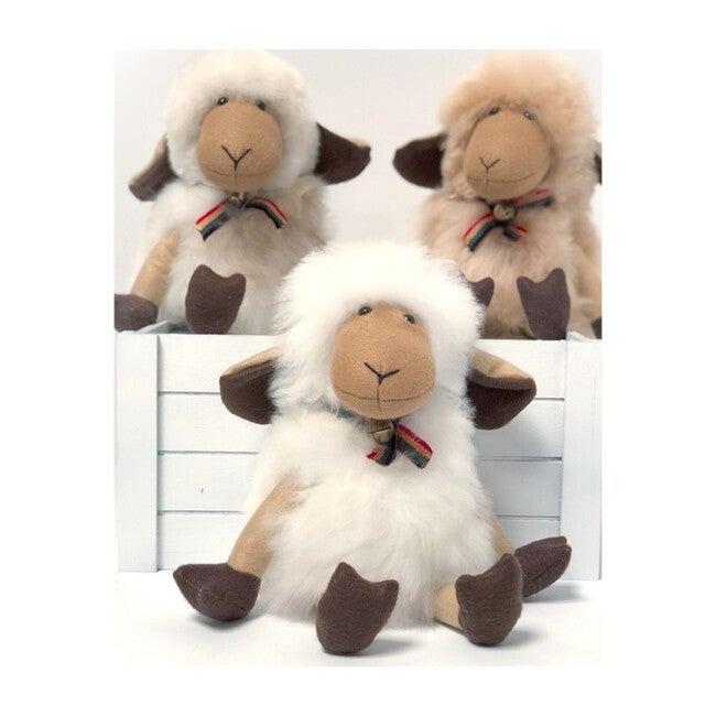 "Alpaca Stuffed Sheep, 14"" - Decorative Pillows - 1"
