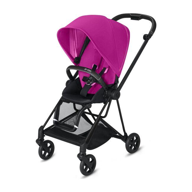 Mios 2 One Box Solution, Matte Black Frame + Fancy Pink Seat