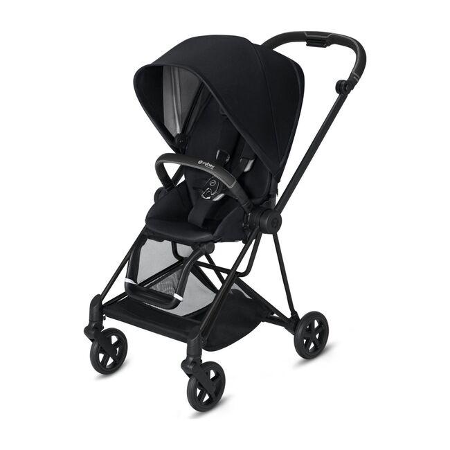 Mios 2 One Box Solution, Matte Black Frame + Premium Black Seat
