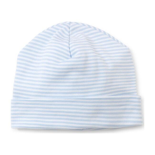 Simple Stripe Hat, Blue - Hats - 1