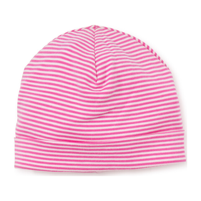 Essentials Striped Hat, Fuchsia