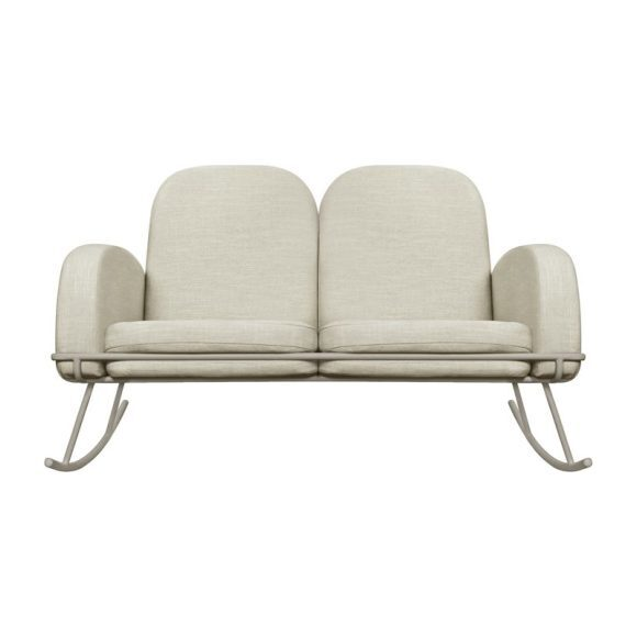 Ami Rocker Double Seat Cushion, Beige