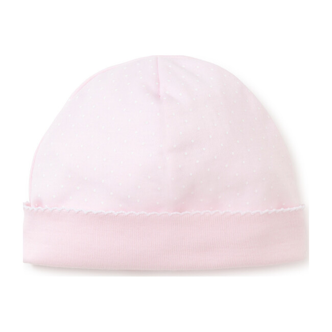 New Dots Hat, Pink/White