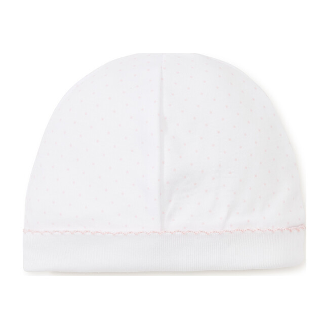 New Dots Hat, White/Pink