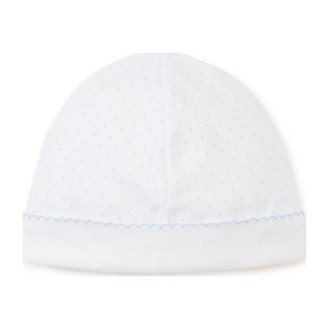 New Dots Hat, White/Blue