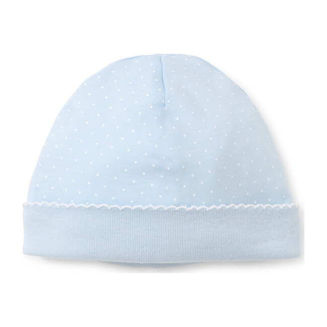 New Dots Hat, Blue/White - Hats - 1
