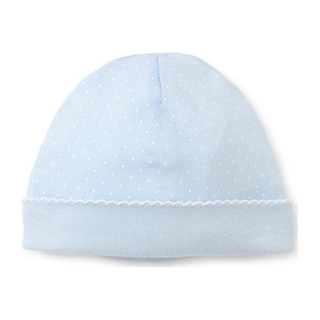 New Dots Hat, Blue/White