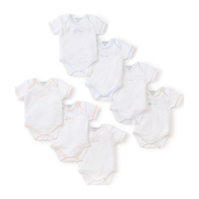 Boys Days of the Week Onesies Set