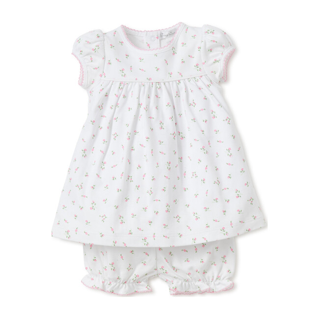 Garden Roses Dress & Bloomer Set